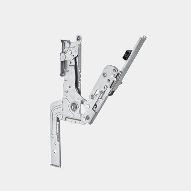 Cerniera sliding completamente integrata 80mm