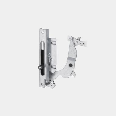 Cerniera sliding parzialmente integrata 80mm